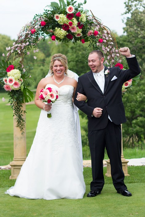 Megan and Brad Married