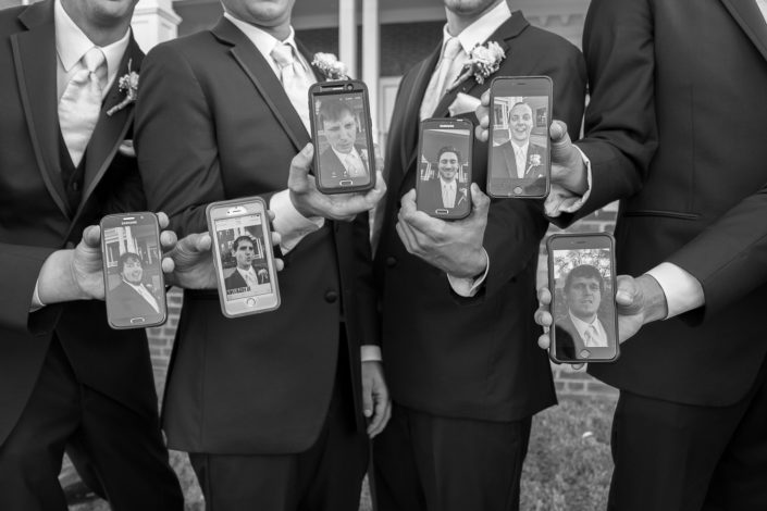 Delafield Hotel Groomsmen Phones
