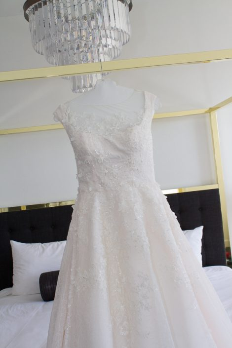 Delafield Hotel Wedding Dress